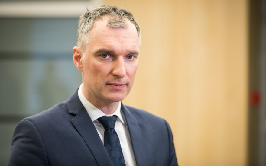 "Turto banko vadovo konkursą laimėjo ""Sodros"" vadovas Sinkevičius"