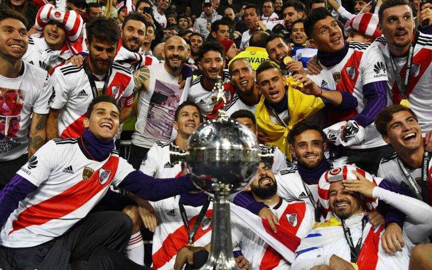 """River Plate"" - Copa Libertadores"" nugalėtoja"
