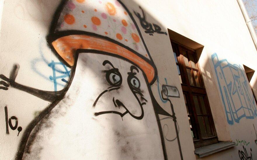 Grafičių bylos: kodėl sienų tepliojimas yra nusikaltimas