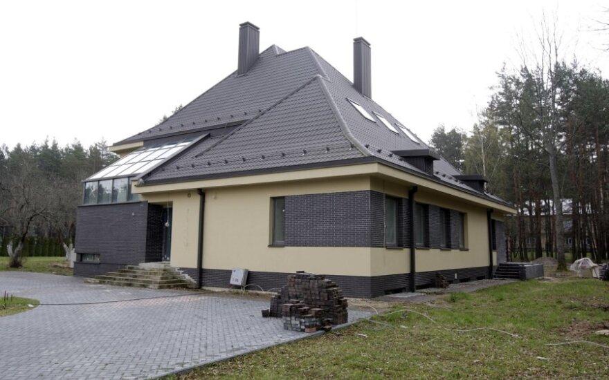 Statybininkai paliko premjero rezidenciją Turniškėse
