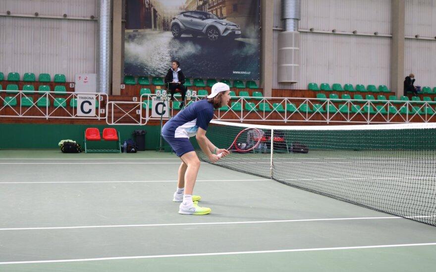 Šiauliuose – net du tarptautiniai jaunių teniso turnyrai