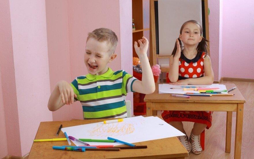 Hiperaktyvumas: kai kurių vaikų negalima laikyti tiesiog neišauklėtais