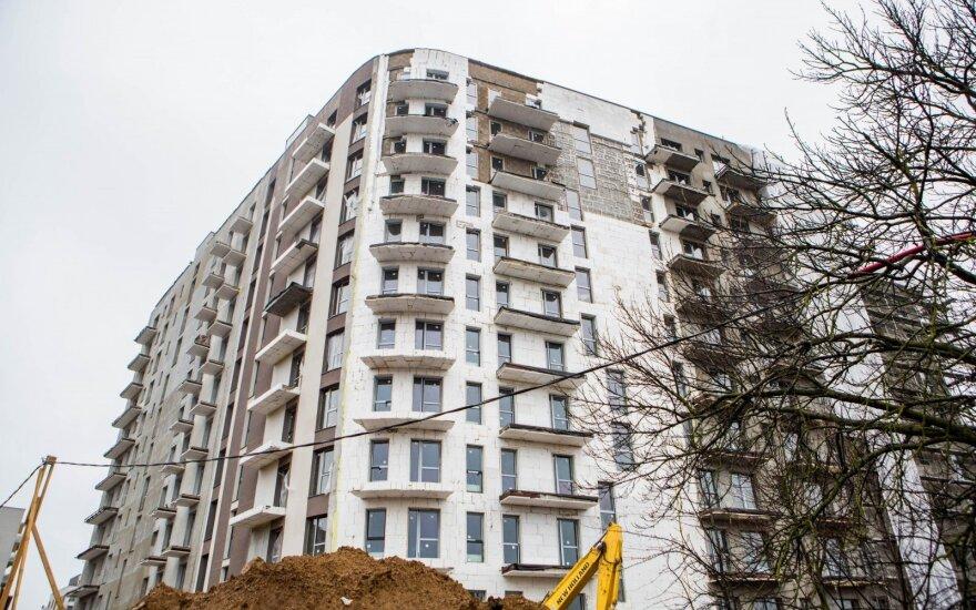 Pigo naujos statybos butai didmiesčiuose