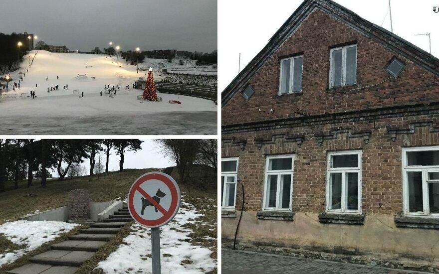 Kitokie pasivaikščiojimai. Lietuvos miestas, kurio centre – slidinėjimo trasos