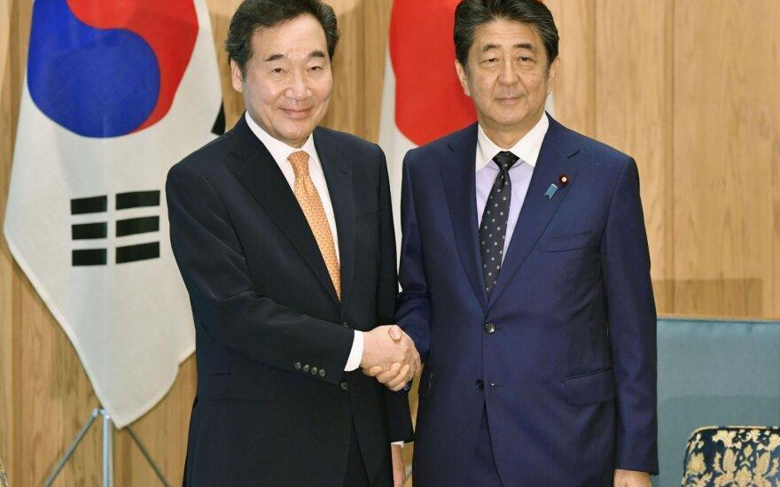 Lee Nak-yonas, Shinzo Abe