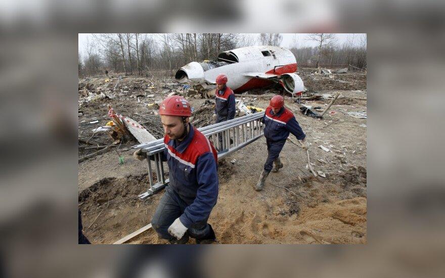 Lenkijos prezidentas galėjo tiesiogiai stebėti savo lėktuvo kritimą