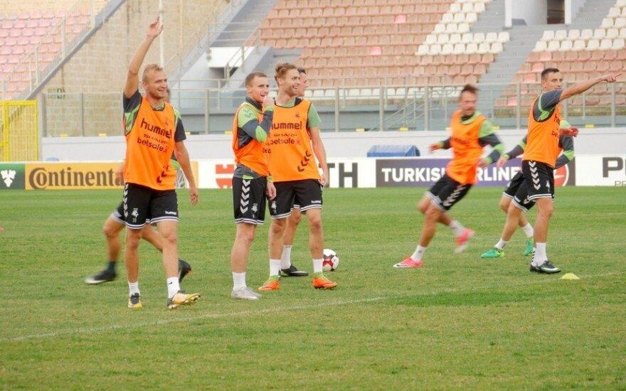 Lietuvos futbolininkai Maltoje
