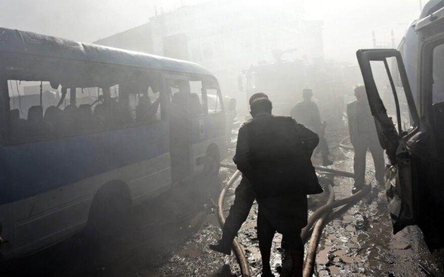 Per konfliktą su islamistais Afganistane žuvo 17 policininkų