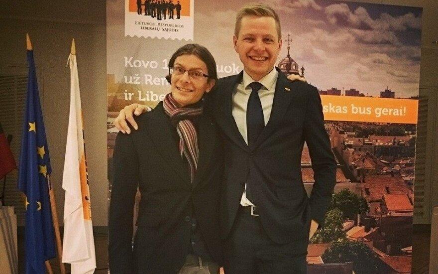 Mark Harold, Vilnius Mayor Remigijus Šimašius