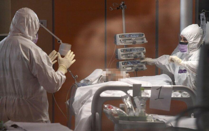 Europoje mirė jau daugiau kaip 25 tūkst. koronavirusu užsikrėtusių žmonių