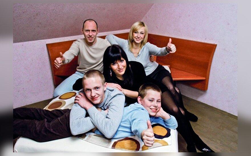 Lietuvių šeimą lydi skaičių magija