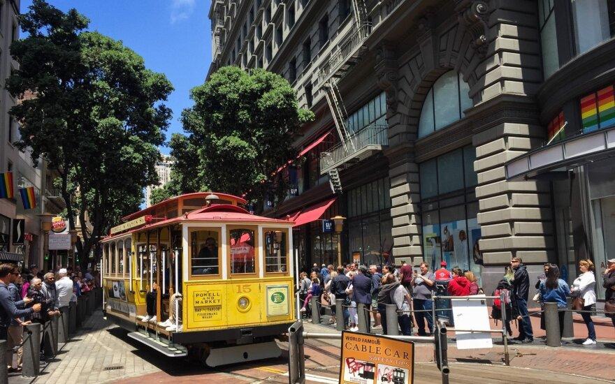 Technologijų galia: pagal atlyginimų augimą JAV pirmauja San Fransiskas ir Niujorkas