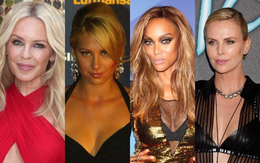 Kylie Ann Minogue, Anna Kournikova, Tyra Banks, Charlize Theron