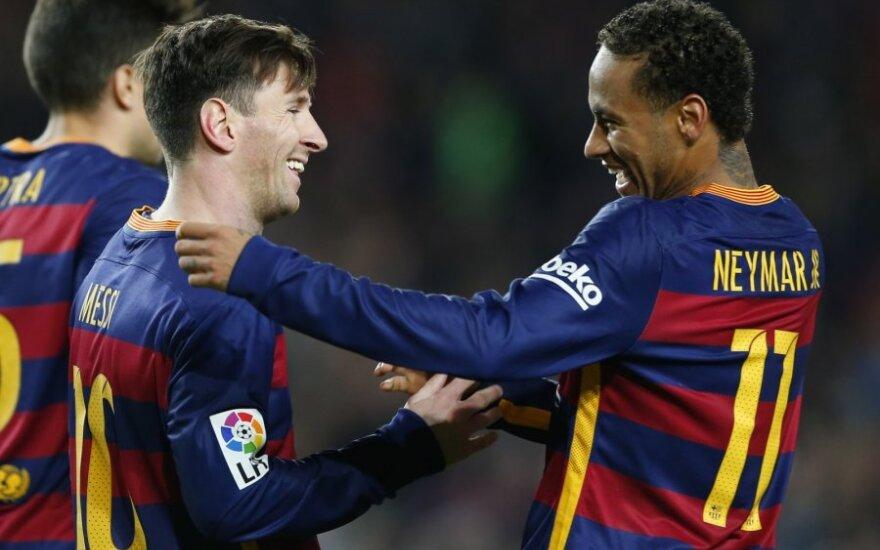 """""""Barcelona"""" - """"Real Sociedad"""" dvikova"""