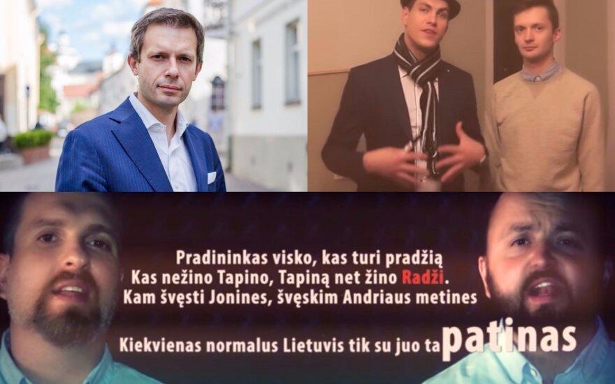 Andrius Tapinas, Deivydas Zvonkus, Stano, Justinas Jankevičius, Vaidotas Grincevičius