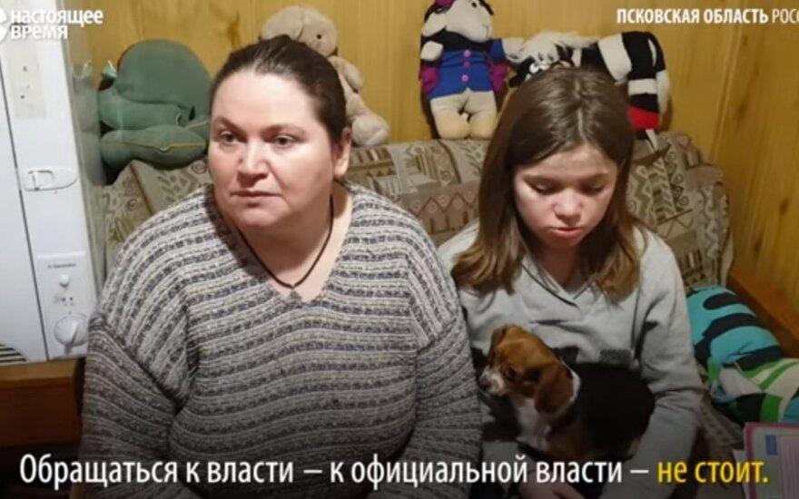Tasia Perčikova su mama