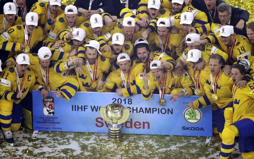 Pasaulio ledo ritulio čempionato finalas: Švedija - Šveicarija