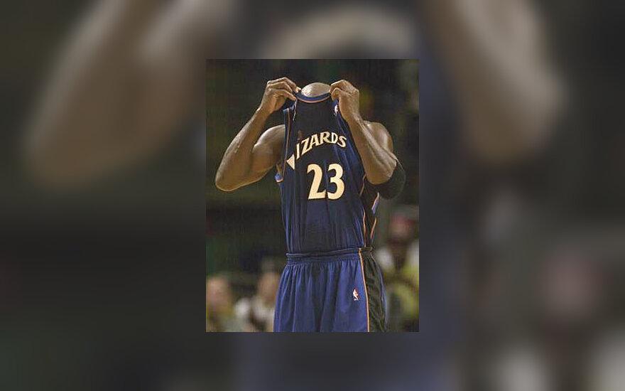 Michael Jordan, Wizards