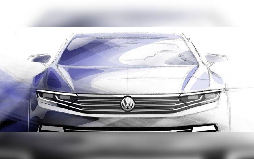 Naujasis Volkswagen Passat