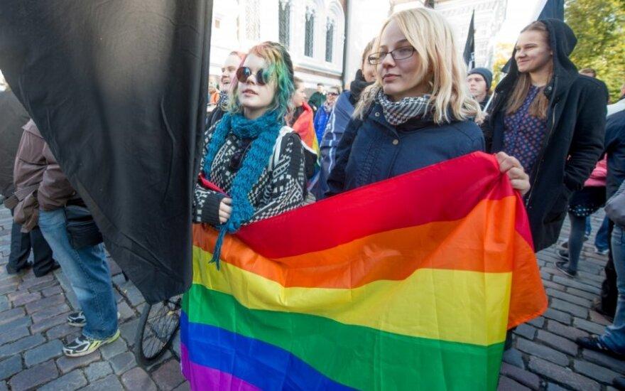 Estijoje – mitingas prieš galimybę homoseksualams įteisinti santykius