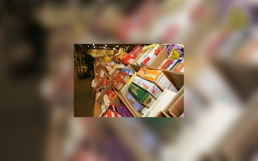 """""""Maisto bankas"""" savaitgalį surinko paramos maistu už 682 tūkst. litų"""
