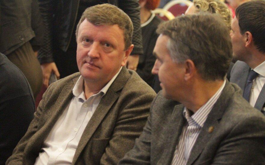 MP Vitalijus Gailius and MEP Petras Auštrevičius