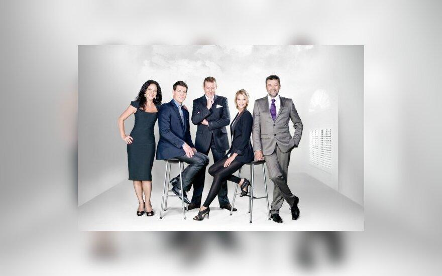 """Šou """"TV Antis"""", Livija Gradauskienė, Justas Jankevičius, Džiugas Siaurusaitis, Aistė Paškevičiūtė, Vytautas Šapranauskas"""