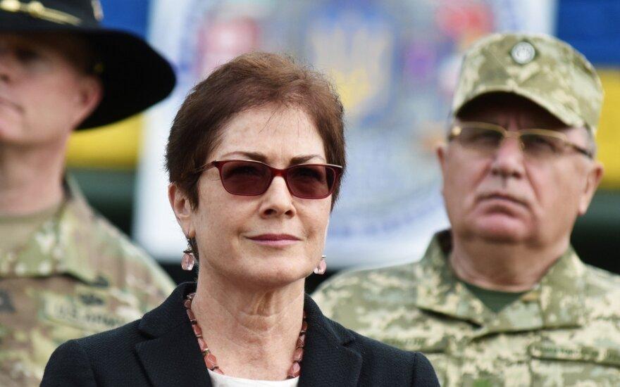 JAV ambasadorė Ukrainoje Marie Yovanovitch