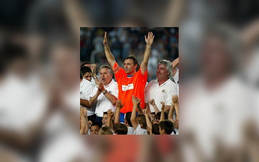 Christo Stoičkovas atsisveikinimo rungtynėse