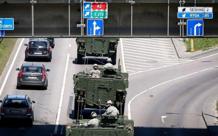 Rusija rengia atsaką dėl JAV karių Lietuvoje