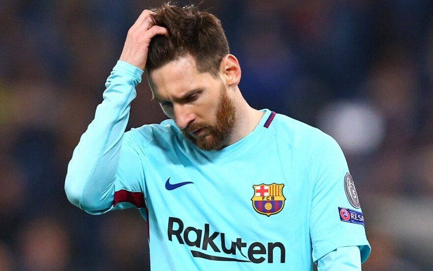 "UEFA Čempionų lyga: ""AS Roma"" – ""Barcelona"""