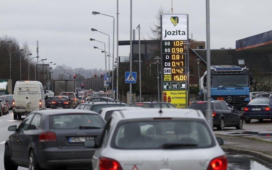 Degalų kainos Kaune