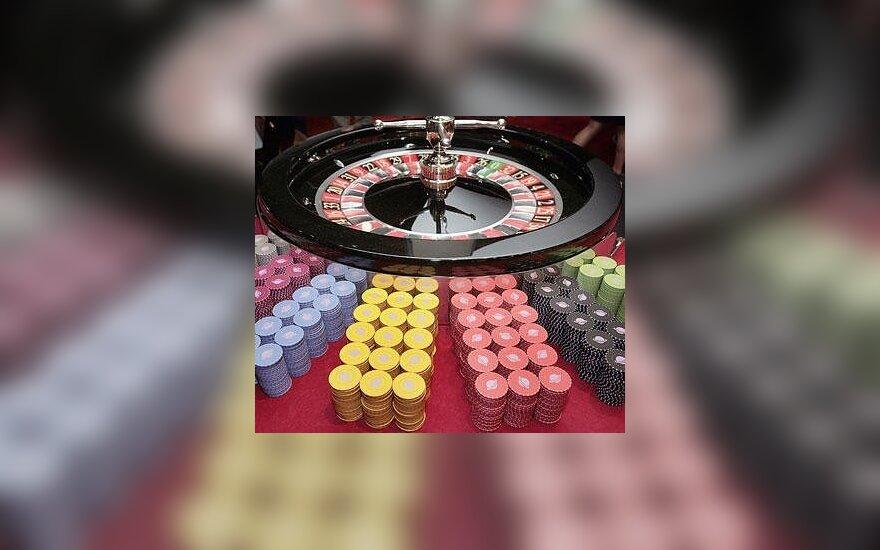 Lošimų komisijos vadovas: kazino turėtų būti mažiau