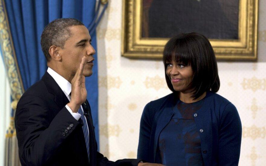 B.Obama oficialiai prisaikdintas antrajai JAV prezidento kadencijai