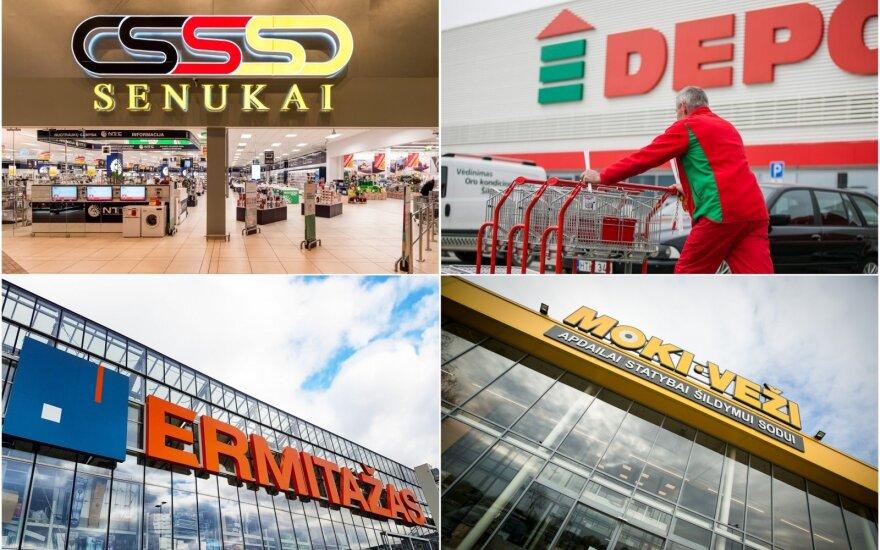Pokyčiai statybos ir remonto prekių rinkoje: Vilniuje kyla milžiniškos parduotuvės
