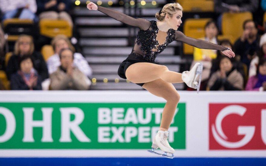 A. Golovkina olimpinę atranką pradėjo kukliu pasirodymu