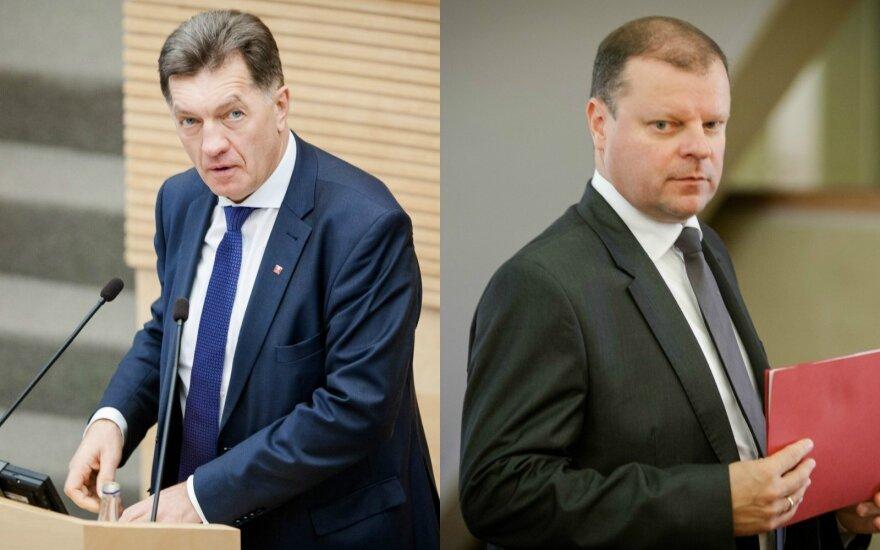 Saulius Skvernelis, Algirdas Butkevičius