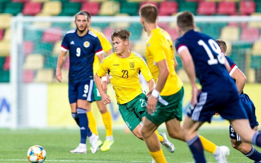 Europos futbolo U21 čempionato atranka: Lietuva - Škotija