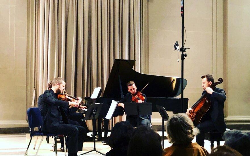 """Kvarteto """"Mettis"""" koncertai Niujorke ir Vašingtone"""