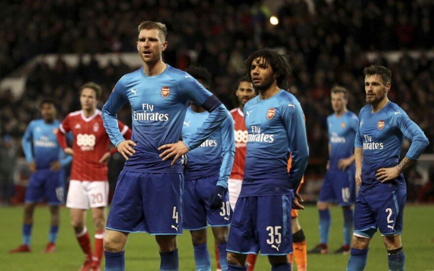 "Londono ""Arsenal"" Notingame"