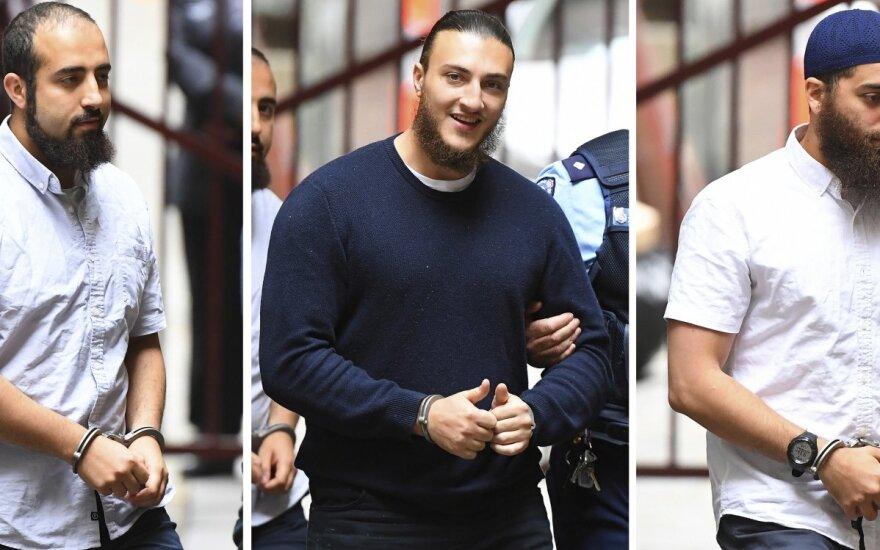Australijoje teroro aktą surengti planavusiems vyrams skirtos kalėjimo bausmės