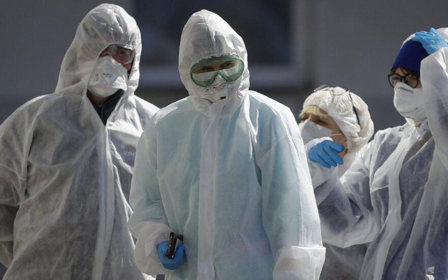 Baltarusijoje COVID-19 protrūkio aukų padaugėjo iki 40, užsikrėtusiųjų – iki 4 204