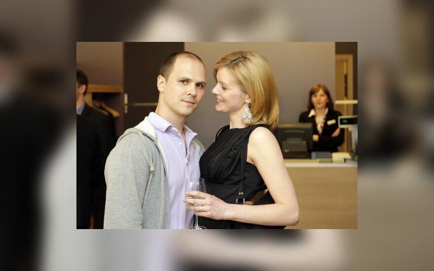 Audrius Bružas ir Eglė Driukaitė