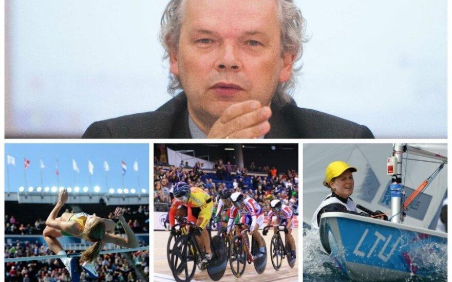 K. Rimšelio naujienomis nesidžiaugs lengvoji atletika, dviračių sportas, buriavimas (Reuters, AFP ir DELFI nuotr.)
