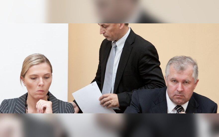 Agnė Bilotaitė, Žydrūnas Plytnikas, Arvydas Anušauskas