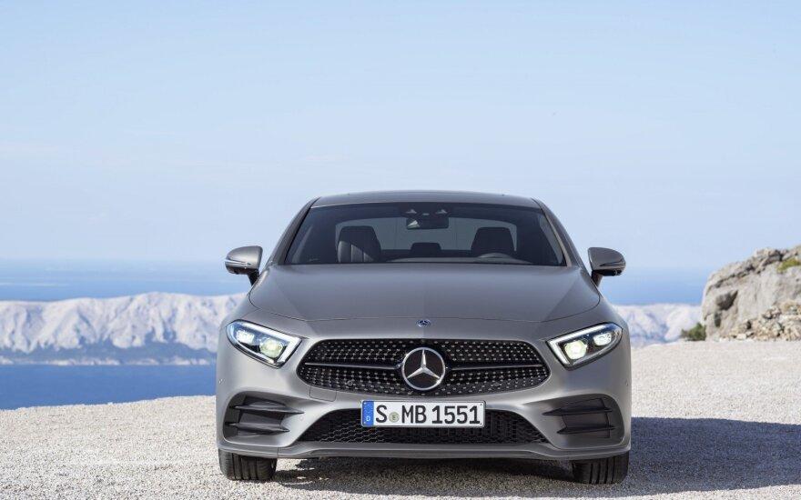 """""""Mercedes CLS"""" (asociatyvi nuotr.)"""