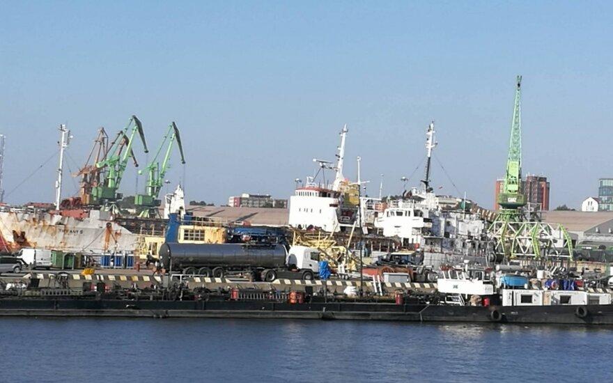 Klaipėdos uosto krova šiemet augo 5,8 proc.