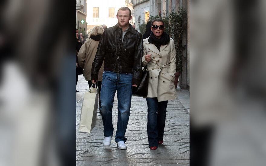 Wayne Rooney ir Colleen