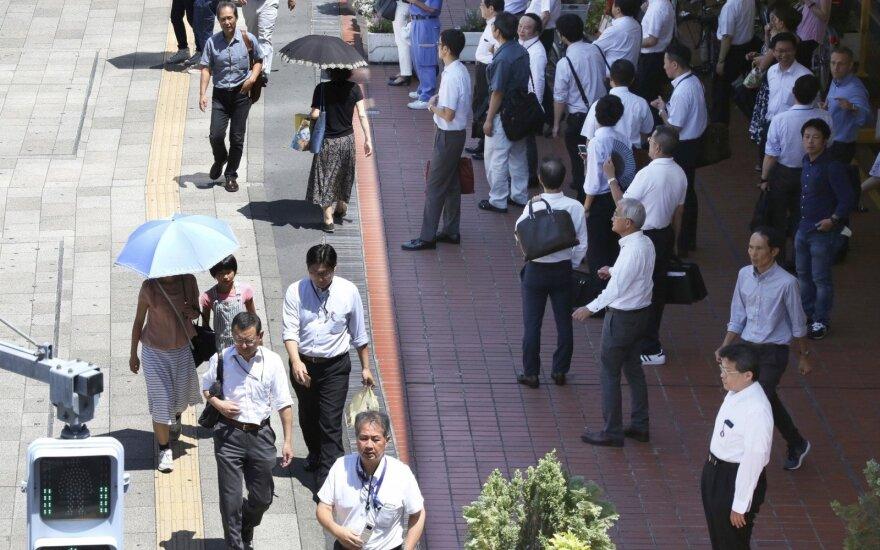 Japonijoje karšta vasara į ligonines jau paguldė daugiau kaip 71 tūkstantį žmonių