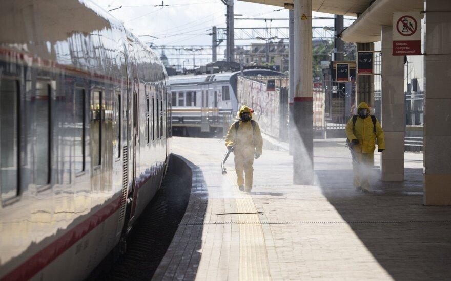 PSO: purkšti gatves dezinfekantais gali būti kenksminga